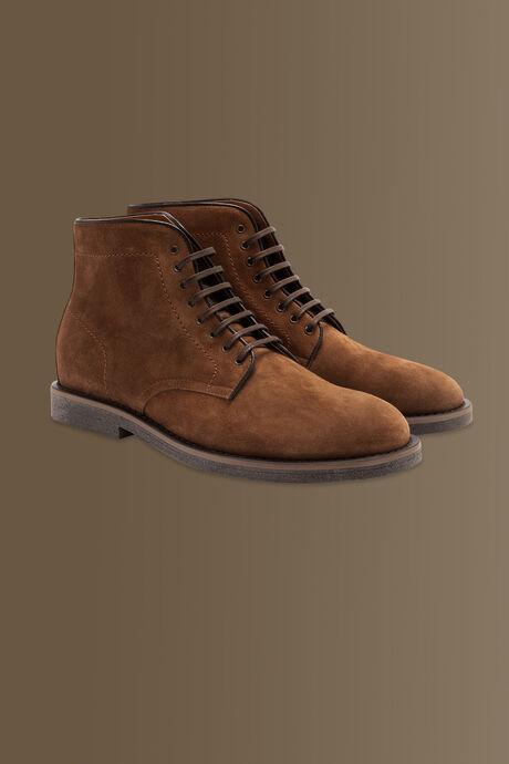 Stivali in suede - 100% pelle